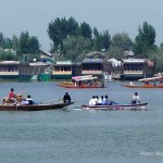 House boats on Dal Lake, Srinagar