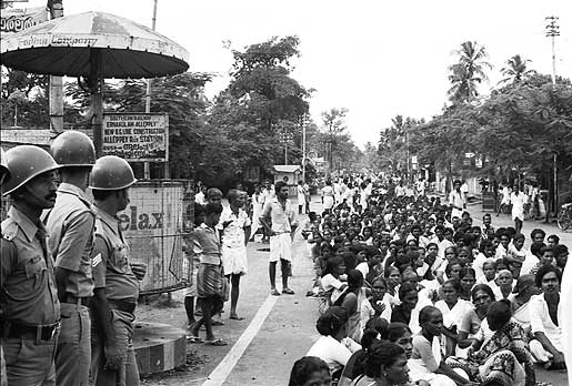 Fishermen's agitation