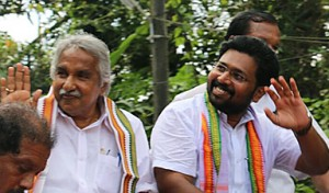 Sabarinath with CM
